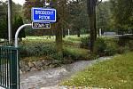Mezi Ptenským Dvorkem a Stražiskem měla Romže obrovský nadstav. 14.10. 2020
