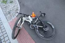 Nehoda cyklisty v Prostějově