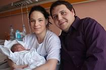 Natálka, první miminko Olomouckého kraje roku 2016 se narodilo v prostějovské nemocnici