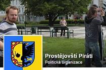 FB profil prostějovských Pirátů - výřez