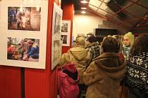 Vernisáž výstavy Zabíjačka v Němčicích nad Hanou