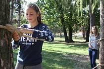 Den bez aut v Kolářových sadech v Prostějově