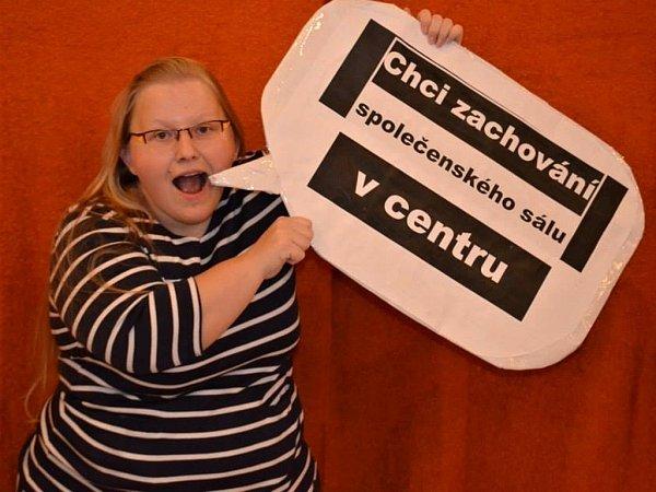 Fotopetice za zachování společenského sálu vcentru Prostějova