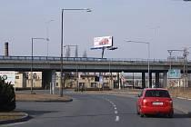Dalniční nadjezd nad Dolní ulicí