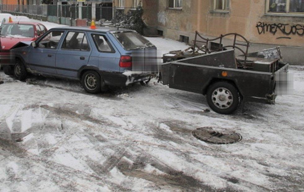 Nehoda ve Vrahovické ulici