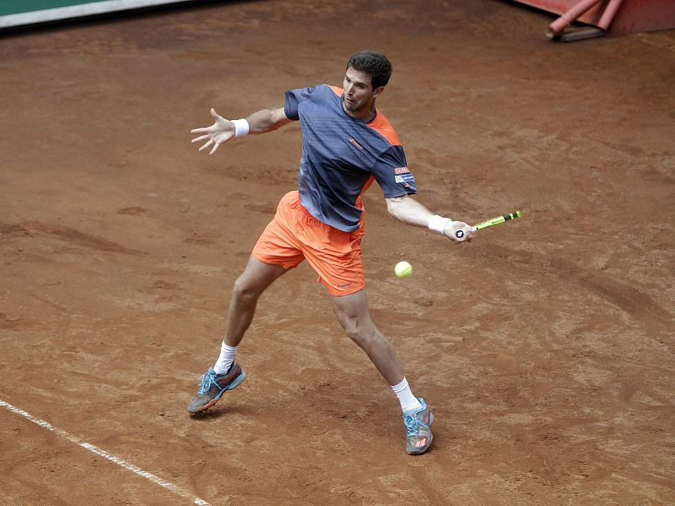 V Prostějově proběhlo finále dvouhry turnaje Czech Open Federico Delbonis