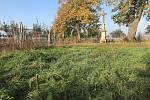 Nadšenci ze Smržic se rozhodli společně s dětmi sázet stromy. Na snímku lokalita na okraji obce, kde rodiny s dětmi v sobotu vysadí čtyři ovocné stromy.