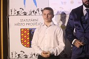 Slavnostní předávání cen Sportovec města Prostějova v Hotel Tennis club Prostějov. (16.3.2018) Deniel Ponížil