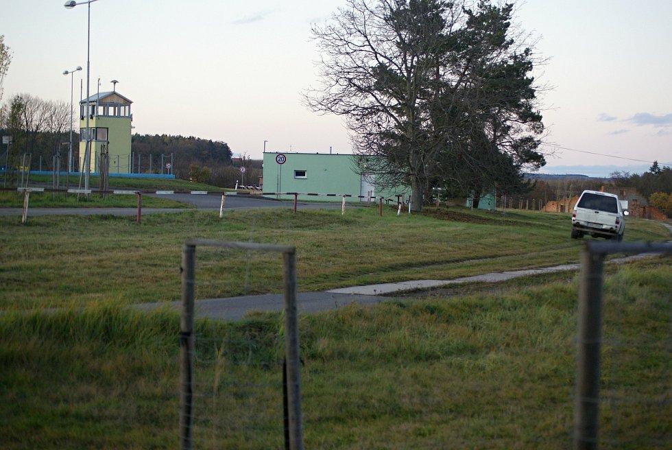 Armádní střelnice v Hamrech na Prostějovsku