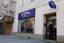 Končící prodejna William & Delvin v centru Prostějova