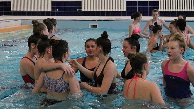 Nově zrekonstruovaný bazén na ZŠ Dr. Horáka