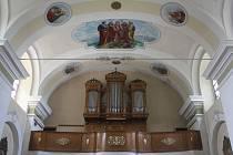 Historické varhany v Dubanech