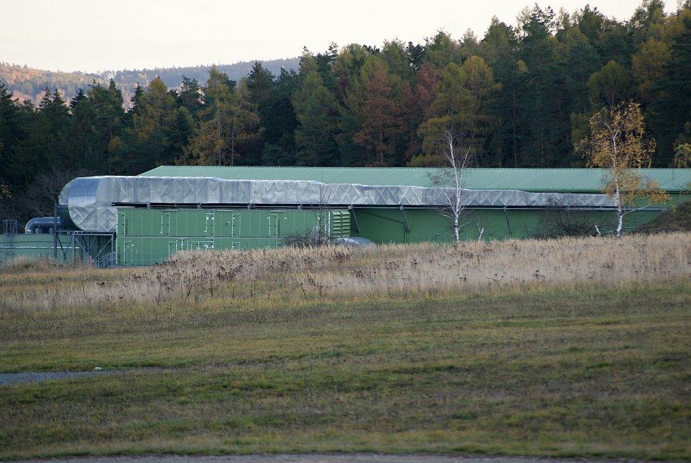 Armádní střelnice v Hamrech na Prostějovsku - hala pro střelby