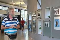 Vernisáž výstavy A a Ω fotografie v Galerii Metro 70