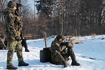 Cvičení odstřelovačů na Libavé