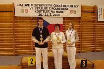 Jan, Jaroslava a Hana Nedělníkovi
