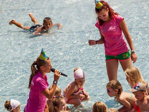 Lenka Pagáčová dokonale ovládá time-managment. Zvládá dvě práce a volný čas věnuje dětem na letních táborech.