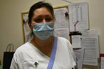 Martina Holásková, staniční sestra interního oddělení Nemocnice AGEL Prostějov