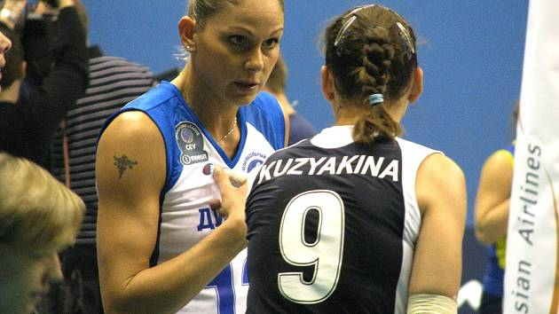 Prostějovské volejbalistky získaly s favoritem Ligy mistryň jeden set.
