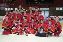 Hokejoví páťáci HK Jestřábi Prostějov vyhráli domácí turnaj O pohár J. Pospíšila.