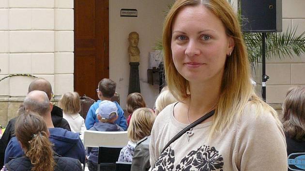 Lucie Maříková, hlavní organizátorka festivalu IMYZDE