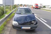 Nehoda u Mechaniky v Prostějově