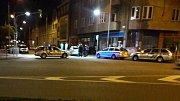 Noční romská potyčka s přítomností policistů na ulici Újezd v Prostějově - 18. 5. 2019