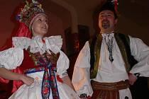 Občanské sdružení pro obnovu a rozvoj tradic Hanácko-horácký rozhled uspořádalo v sobotu 21. února v Národním domě v Prostějově svůj premiérový ples.
