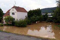 Blesková povodeň ve Stařechovicích a její následky - 19.6. 2019
