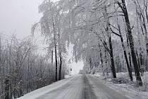 Dobrodružná cesta z Horního Štěpánova do Protivanova - 8. 2. 2021 ráno