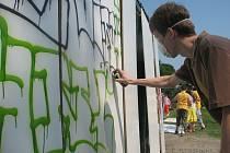 O legální zdi pro stoupence grafity nechce město ani slyšet.
