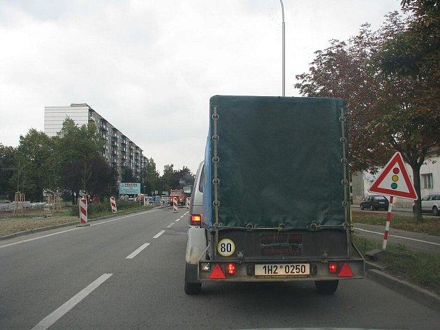 Dolní ulice v Prostějově