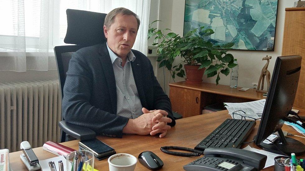 Konický starosta Michal Obrusník