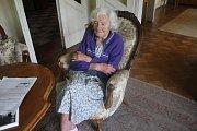 Linda Wichterlová oslavila sto let