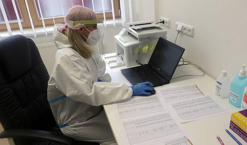Testování zaměstnanců pily Javořice - 4. března 2021