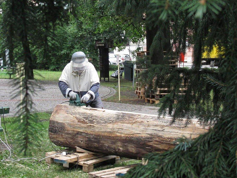 Sochařské sympozium Hany Wichterlové v Prostějově - Ugo Antinori