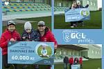 Fotbalové kluby FC Slovan Liberec a TJ Sokol Klenovice pomáhají handicapované holčičce z Prostějova.
