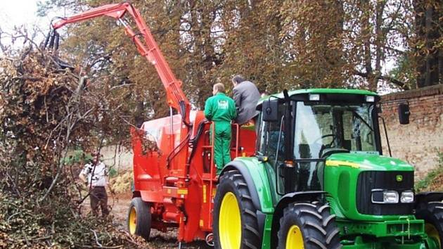 V lipovské kompostárně budou využívat moderní mobilní technologie. Ilustrační foto
