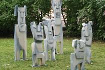 Ve Smetanových sadech stojí díla z let minulých