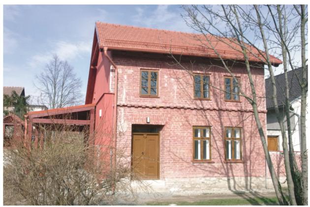 Bezručův Červený domek vKostelci na Hané