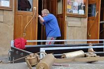 Prostějovské divadlo má zbrusu nově zrestaurované dveře