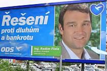 Volební billboard Radima Fialy