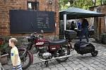 Unikátní sraz motorek a starých aut  na starém mlýně v Hradčanech - 12. 6. 2021