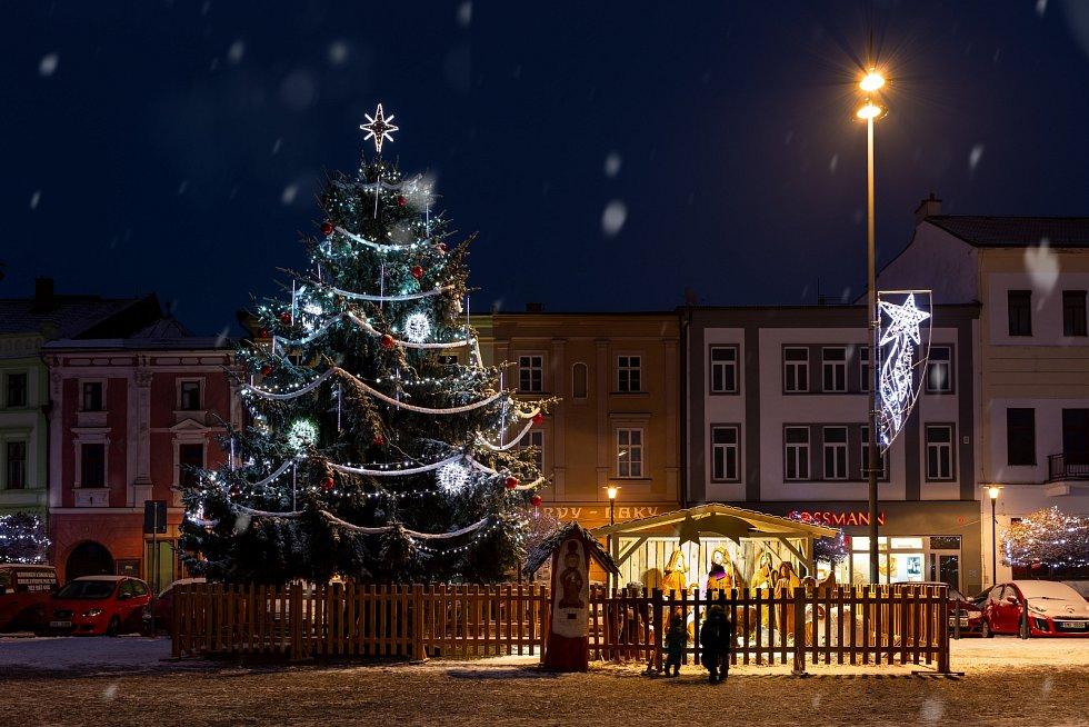 Vánoční strom 2020 v Uničově