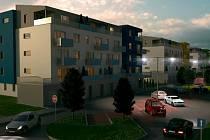 V polích v Okružní ulici by mělo do roku 2013 vyrůst sto dvacet bytů.