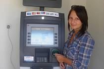 Bankomat v Plumlově