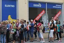 Otevření zrekonstruované prodejny Euronics na Žižkově náměstí v Prostějově
