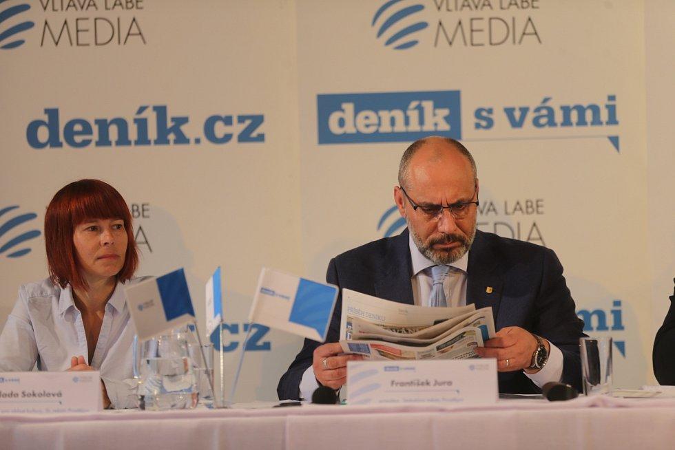 Debata Deníku s prostějovským primátorem - Milada Sokolová a František Jura