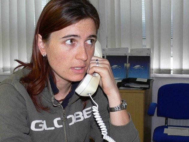 Markéta Pernicová je s telefonním sluchátkem i mobilem takřka srostlá.