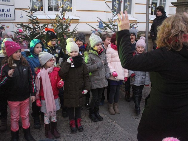 Rozsvěcení vánočního stromu v Kralicích na Hané